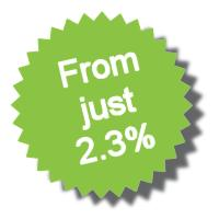 Take Credit Card Payments from just 2.30%
